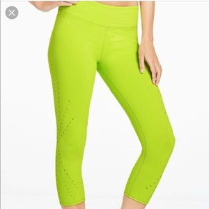 Fabletics cropped Work Out Pants